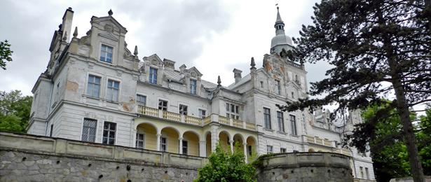 Biechów - zamek